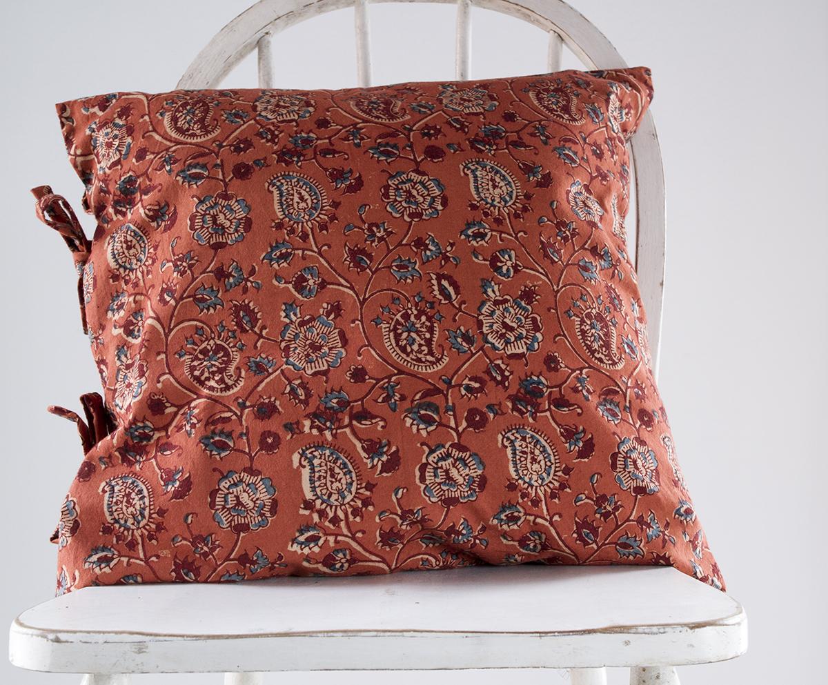 laureline small deco pillow les indiennes. Black Bedroom Furniture Sets. Home Design Ideas