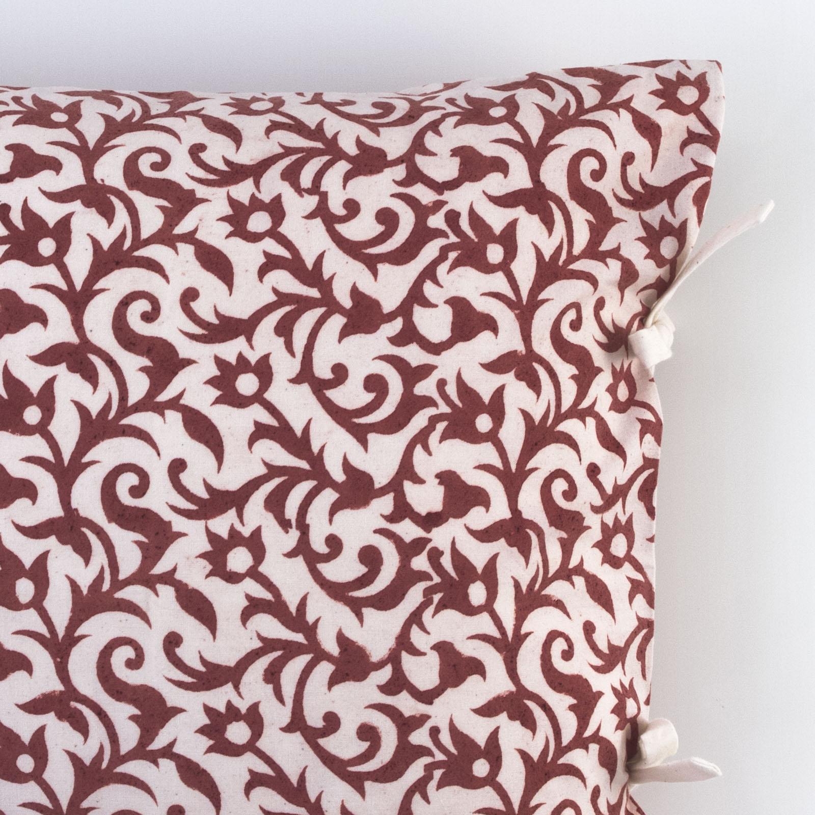 anais small deco pillow les indiennes. Black Bedroom Furniture Sets. Home Design Ideas